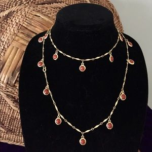 Long Single Strand Multi Wrap Necklace